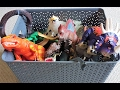 DINOSAUR and ANIMAL BOX! Whats in the box? Lots of different DINOSAURS