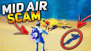The Flowing Mid Air Scam For His Whole Inventory! (Scammer Gets Scammed) In Fortnite Save The World
