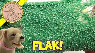 MIX & MASH! Nickelodeon GAK & FLOAM...You Give It A Name!