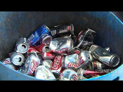 Cash for Cans   9 News Perth