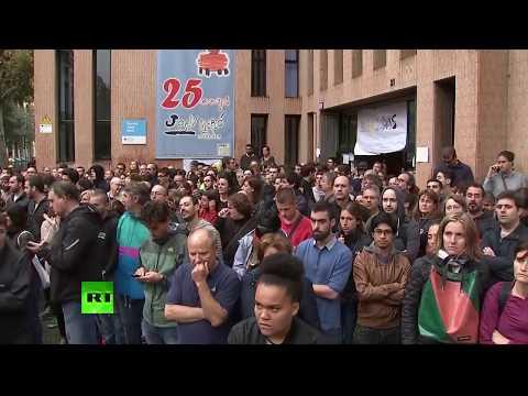 Referéndum independentista en Cataluña: En vivo desde Barcelona