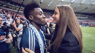 We've found the perfect couple in football and it's not who you think! Alphonso Davies and Jordyn Huitema are Canadian football's biggest hope and the game's ...