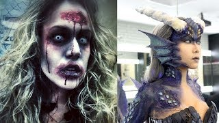 Halloween Makeup - Pretty And Scary Halloween Makeup Ideas - MUST SEE 2018 #8