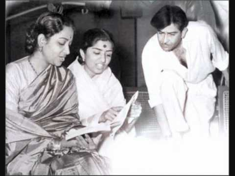 Raj Kapoor and Lata Mangeshkar