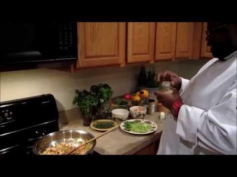 Crawfish Rice Chef Alston Johnson