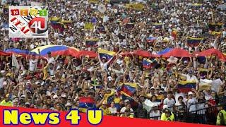 Venezuela border closes amid aid stand-off