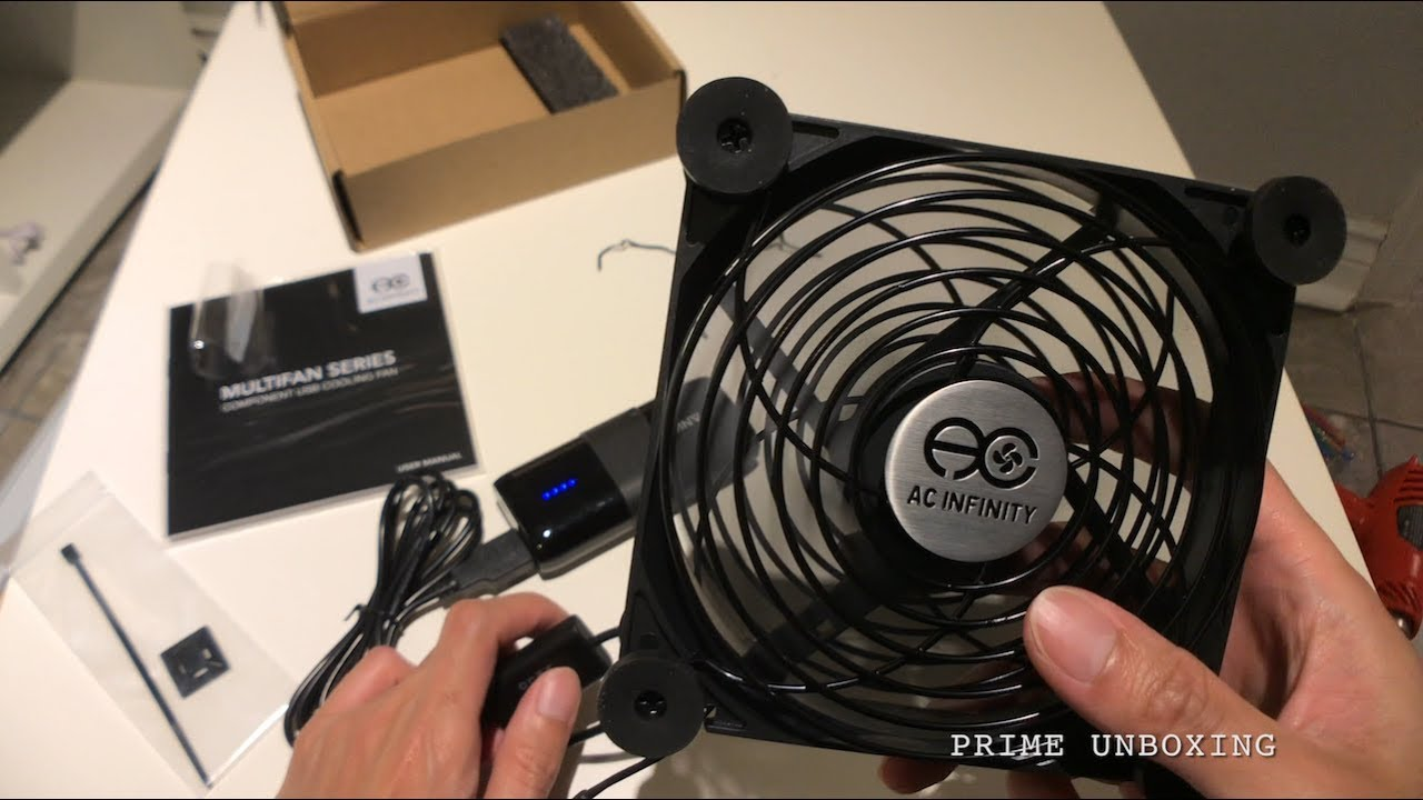 best way to cool your media box ac infinity multifan s3 usb fan