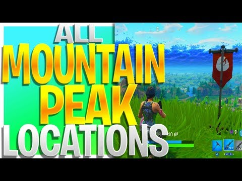 All 19 Mountain Peak Locations!