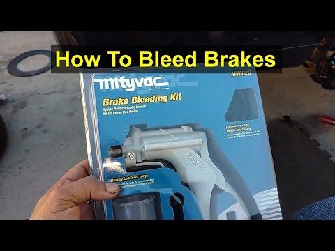 brake bleeding with a mityvac vacuum pump step by step funnydog tv. Black Bedroom Furniture Sets. Home Design Ideas