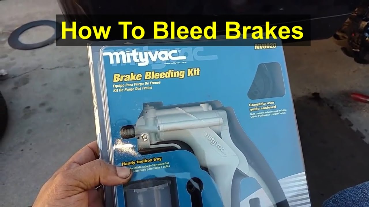 How To Use A Vacuum Pump To Bleed Your Brake System Votd Youtube