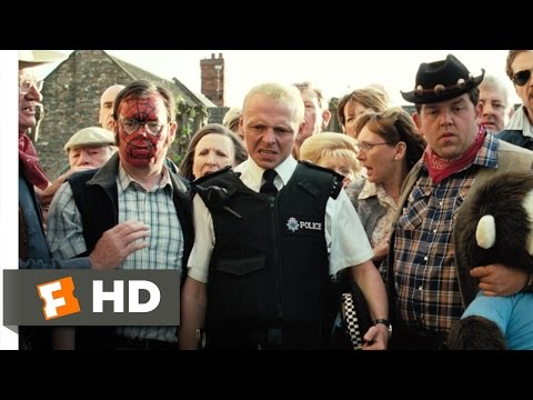 Hot Fuzz (5/10) Movie CLIP - Kill the Messenger (2007) HD