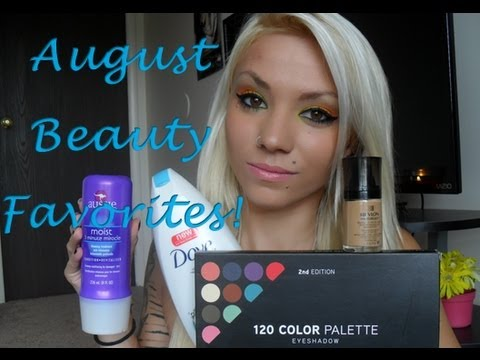 August Beauty Favorites EXTENDED EDITION!