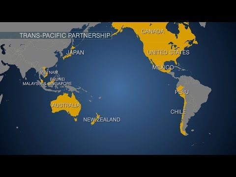Trans-Pacific trade deal was years in the making