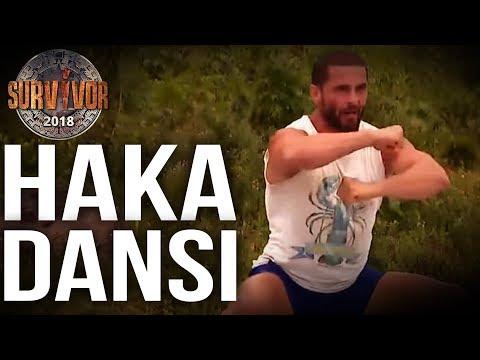 Mustafa Kemal'den galibiyet sonrası Haka Dansı!   32.Bölüm   Survivor 2018