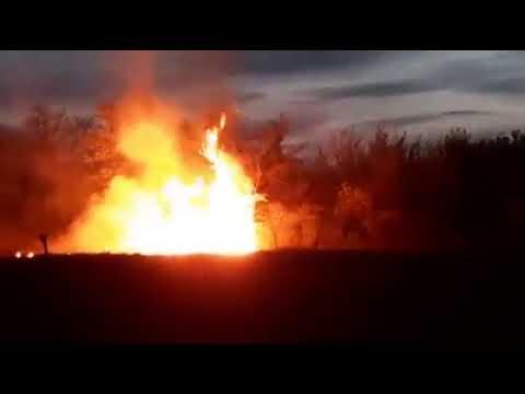 Пожар на Білоцерківщині