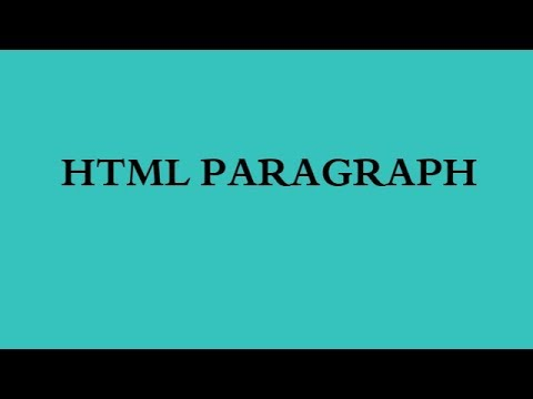 8. HTML PARAGRAPH - TAGALOG VERSION Craftedby TEE