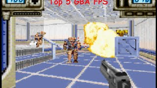 Top 5 Gameboy Advance FPS First Person Shooter Games