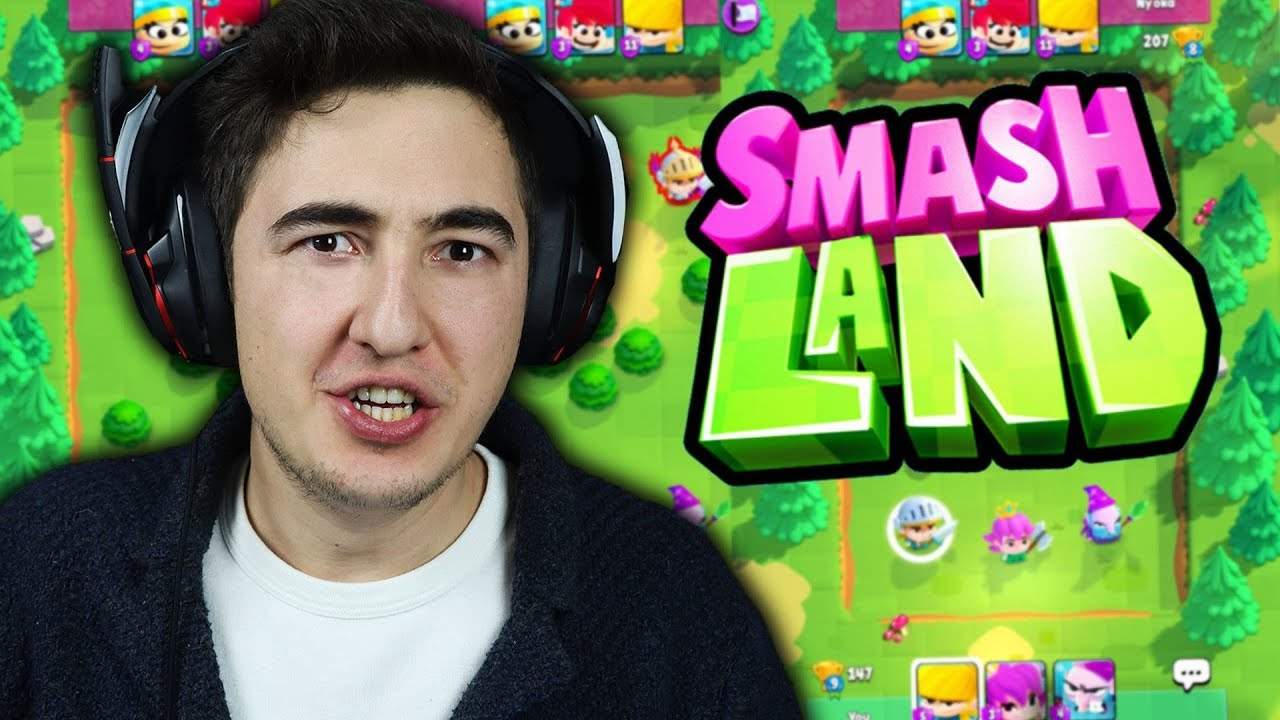 SUPERCELL'IN PROJESİ - SMASH LAND