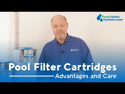 Maintaining a Pool Filter Cartridge