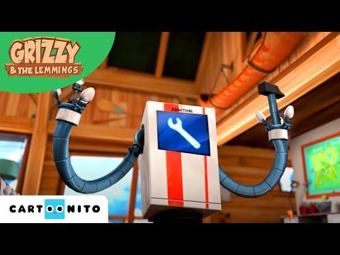 Grizzy i lemingi | Robot sprzątający | Boomerang