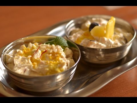 Low sugar flavoured yogurt (Shrikhand) recipe - diabetic recipe, SCD