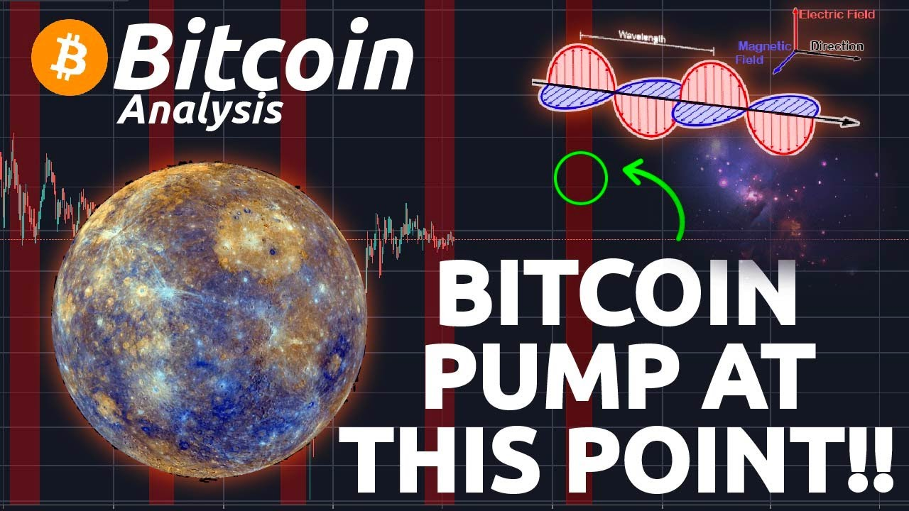 BITCOIN PUMP AT THIS EXACT POINT!!! USING ASTROLOGY TO PREDICT PRICE OF BITCOIN (W. D. GANN)