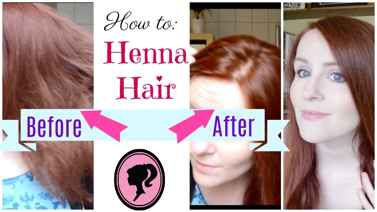 How To Dye Your Hair With Henna Red Natural And Toxic Free Youtube