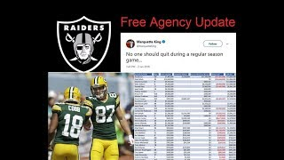 2018 Raiders Free Agents