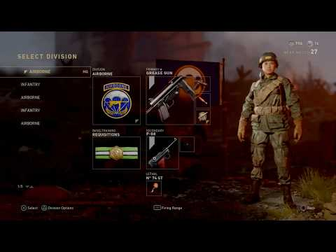 WILL-BOOTYMAN's Live PS4 Broadcasting CALL OF DUTY WW2 (Grind for 300subs)