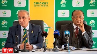 CSA Chief Executive Haroon Lorgat and the body's Anti-Corruption Unit chair Bernard Ngoepe announced the banning of four players for breaching its Anti-Corruption Code for Personnel on Monday.   The announcement forms part of an ongoing match-fixing investigation.  Click here to subscribe to Eyewitness News: http://bit.ly/EWNSubscribe  Like and follow us on: http://bit.ly/EWNFacebook AND https://twitter.com/ewnupdates  Keep up to date with all your local and international news: https://ewn.co.za  Produced by: Aletta Harrison