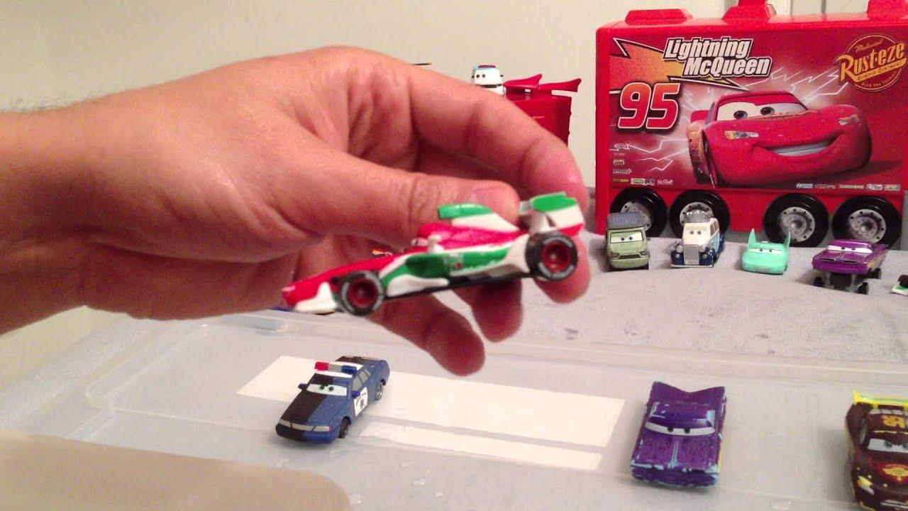 Voitures cars qui changent de couleur inedit color changers flash mcqueen part 2 youtube - Nom voitures cars 2 ...
