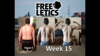 My Freeletics 15 Weeks Transformation - Ramon Guadalajara Mexico 2017
