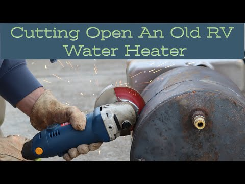 cutting-open-a-well-used-rv-water-heater