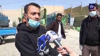 طلب متزايد على اسطوانات الغاز خلال حظر التجول في الأردن 23/3/2020