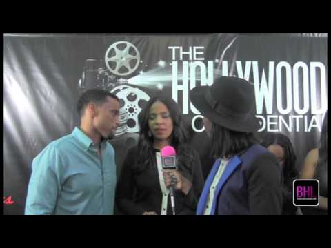 Michael Ealy and Sanaa Lathan Define the Perfect Guy @ The Hollywood Confidential