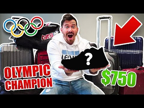 I Bought $1000 of Lost Luggage at an Auction and Found This.. (PRO ATHLETES SHOE COLLECTION!!)