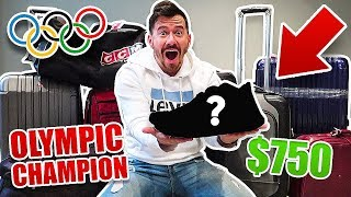 I Bought $1000 of Lost Luggage at an Auction and Found This.. (PRO ATHLETE