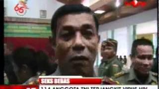 144 askar INDON kena HIV akibat SEKS BEBAS Смотри на OKTV.uz