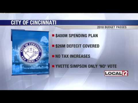 City of Cincinnati approves new budget