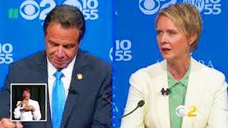 Cynthia Nixon To Andrew Cuomo In Debate: 'Can You Stop Lying?'
