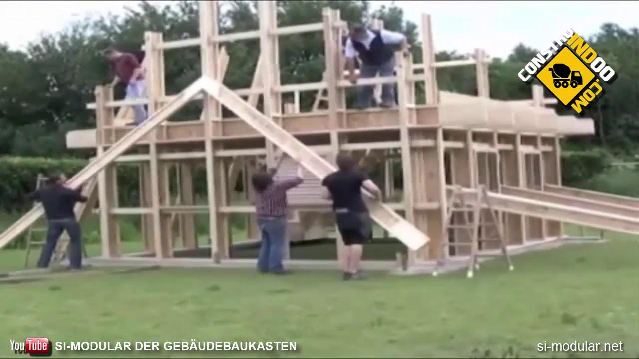 Si Modular German Wooden Building System
