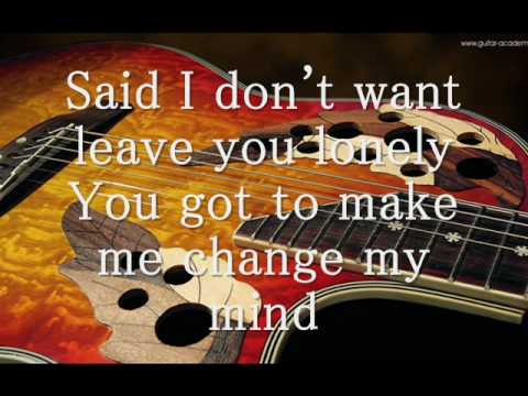 Tracy Chapman Give Me One Reason Acoustic Cover Lyrics Chords