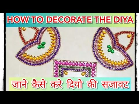 Service on wheel/How to decorate diya at home | diya decoration | diya decoration ideas for Diwali