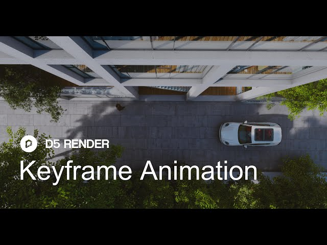 D5 Render 1.6 | Keyframe Animation