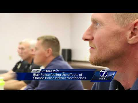Blair police feeling the effects of Omaha police lateral transfer class