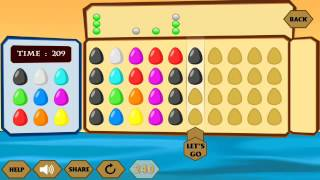 River Crossing IQ Logic 35 l Find out the Hidden Codes Composed of Color Eggs