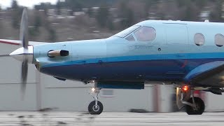 Pilatus PC-12 NG Takeoff