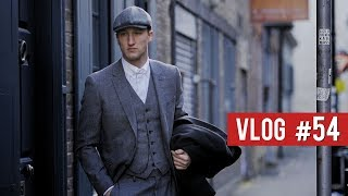 LONDON FASHION WEEK DAY 2 - Peaky Blinders Style!