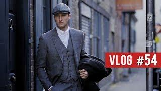 LONDON FASHION WEEK DAY 2 - Peaky Blinders Style!