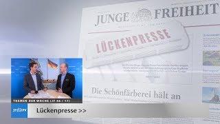 Ein Blick in die neue JF (46/17): Lückenpresse